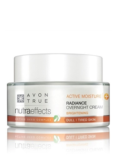 Avon Nutra Effects Radiance Gece Kremi 50 Ml Renksiz